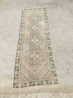 260x81 cm 8,6x2,7 feet Muted Color runner,traditional rug runner,decorative rug runner,oushak carpet rug,rustic carpet rug,runner,carpet rug