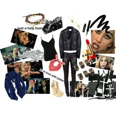 Judas - Lady Gaga, created by marybethschultz