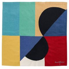 """""""Nocturne Matinale II"""" Sonia Delaunay Tapestry, circa 1970 