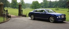 #Bentley by gates of stately home #BestofYachting #Luxury #Lifestyle