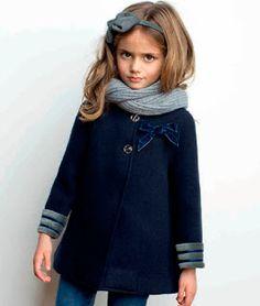 Ropa para niñas para este Invierno 2014 con la moda infantil de Pilar Batanero