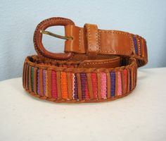 80s Guatemalan belt....had one of these