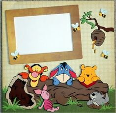 Just Duckie Designs: Winnie the Pooh and Friends