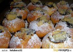 Moravské koláčky recept - TopRecepty.cz Graham Crackers, Pretzel Bites, French Toast, Bread, Baking, Breakfast, Healthy, Cake, Sweet