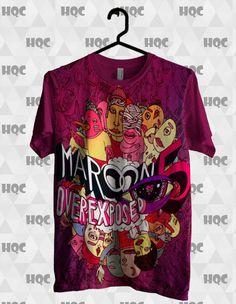 Camisa Maroon5 Exposed - HQ CITY