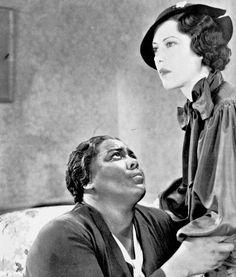 Imitation of Life (1934) - Louise Beavers and Fredi Washington | Black Hollywood Series by Black History Album, via Flickr