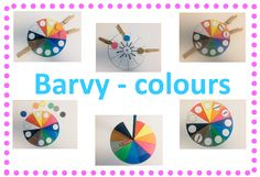 Barvy - colours - anglická i česká verze Colours, Games, Logos, English, Logo, Gaming, A Logo, English Language, Toys