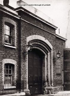 Brixton Prison Entrance, Brixton Hill hasn't changed much from when I worked there in late Victorian Prison, Victorian London, Vintage London, Old London, Brixton Hill, Holloway Prison, Abandoned Prisons, Prison Cell, Police Station