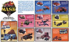 Dear Hasbro, can we talk about the inevitable new MASK toys and how much I want them to be for my kids? Retro Toys, Vintage Toys, 1980s Kids, Cartoon Shows, Classic Toys, Old Toys, Tv, My Childhood, Action Figures