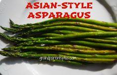 Salmon and asparagus 019p Asian Style Asparagus