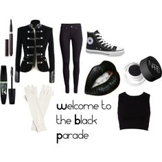 """Welcome to the Black Parade"" by captainamerica77 on Polyvore"