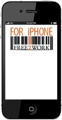 APP: Free 2 work: scan een barcode en lees heel het verhaal achter het product (ook voor Android)