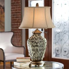 lamp reminds me of a cowrie shell