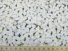 Fat Quarter Dogwood Flowers Cotton Fabric Timeless Treasures