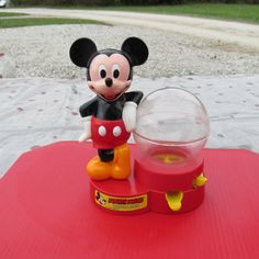 Vintage Mickey Mouse Gumball Machine Dispenser by AshleysSunroom