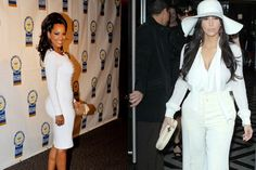 All White Everything; The all-white look is timeless, classy, chic and all around breathtaking.