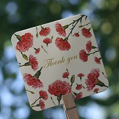 Carnation Pattern Thanky σας κάρτα – EUR € 8.24
