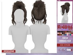 TOKSIK OMINOUS HAIR - KIDS AND TODDLER VERSION Proportional size for Kids and Toddlers HQ compatible Category: Hair Custom Thumbnail All L...