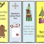 Christmas bookmarkers