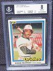 For Sale - 1981 Donruss Eddie Murray BGS 8 NM-MT #112 Baltimore Orioles MLB Baseball Card - http://sprtz.us/OriolesEBay