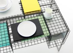 Ying Chang takes graphic design's grid system into three dimensions
