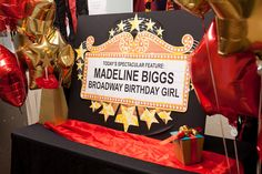 Star-Studded Broadway Birthday Party - Frog Prince Paperie
