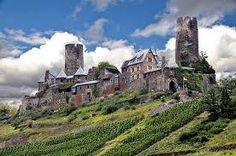 Burg Thurant, Rheinland, Germany on the Mosel...lovely. you can stay here too
