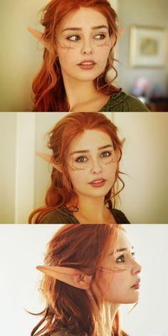 I wish elves where real now... Dragon Age - Dalish female