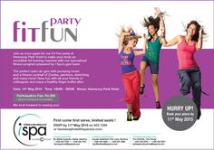 Indigo Hotels - Fit Fun Party at I Spa. Info: 403 7294