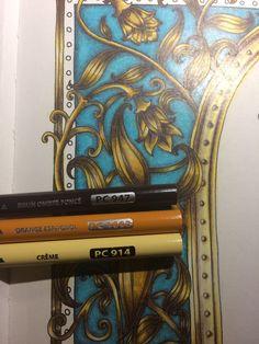 Colour Schemes Color Combinations Coloured Pencils Adult Coloring Books Pages Colouring Techniques Johanna Basford Prismacolor