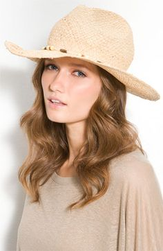 Your look is not complete w/o a floppy hat!