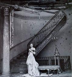 Wenda Rogerson, photo by Clifford Coffin, Vogue, 1947