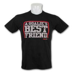 KractIce Goalie s Best Friend Fine Jersey Vintage T-Shirt (Black) Hockey  Apparel 66b6071bd