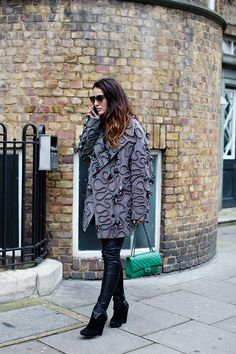 On the Street…Coats with Personality, London (from The Sartorialist) See more at http://www.thesartorialist.com/?p=65751