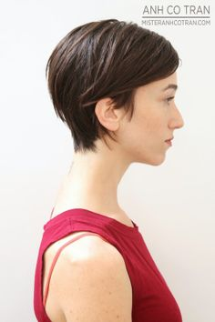 LA: SHORT IS THE STYLE OF SPRING. Cut/Style: Anh Co Tran. Appointment inquiries please call Ramirez|Tran Salon in Beverly Hills: 310.724.8167
