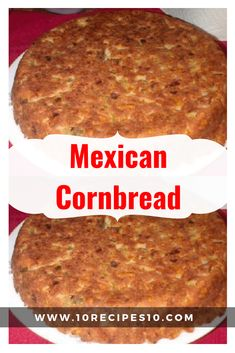 INGREDIENTS: 1 cup all purpose flour, 1 cup white cornmeal, 1 egg, cup oil, Mexican Food Recipes, Recipe For Mexican Cornbread, Cornbread Recipes, Homemade Cornbread, Spanish Recipes, Apple Fritter Bread, Mexican Side Dishes, Dinner Rolls Recipe, Artisan Bread