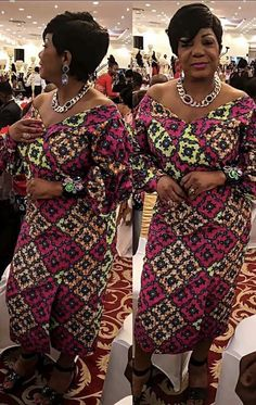 Collection of the most beautiful and latest ankara aso ebi styles and designs of 2018 you must try if you love something aso ebi Latest African Fashion Dresses, African Print Fashion, Ethnic Fashion, African Prints, Woman Fashion, African Attire, African Wear, African Women, African Dress