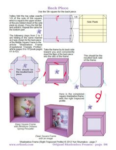ORIGAMI SHADOWBOX FRAMES eBook sample 2