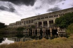 The old South Fremantle power station, Western Australia.