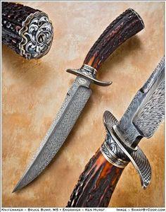 custom knives   Custom Knives - Bruce Bump - Wala Wala, WA