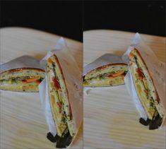Kylling&Bacon-sandwich med hjemmelavet karry/mango-dressing