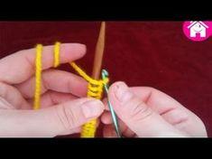 Örgüde Çok Farklı ve Kolay Bir İlmek Atma Yöntemi Videolu Anlatım - YouTube