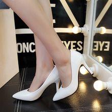2016 Nova Moda Sapatos de Fundo Vermelho Mulher Zapatos Mujer sapatos de Salto Alto mulheres Bombas de Saltos Finos Básica Sapatos de Cunha Sapatos De Salto Alto(China (Mainland))