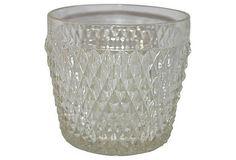 Diamond Point Ice Bucket available on Diamond Point, Diamond Cuts, Indiana Glass, Glass Company, Vintage Diamond, Cut Glass, Makers Mark, Crystals, Ice Buckets