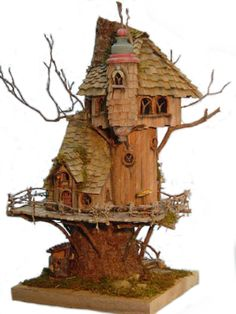 Fantastic fairy houses for your garden! Be kind, and shelter the fairies!