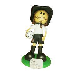 Boneco Mascote de time de futebol em E.V.A.. Super presente para um torcedor, presente de aniversário, etc <br> <br>Consulte-nos para personalizar com o nome, no mesmo material e lembrancinhas.