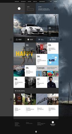 monoshift official website design on Web Design Served #webdesign #website #inspiration #layout