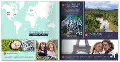 Mixbook custom photobooks can autofill your photos or let you customize them
