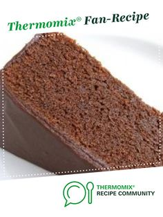 by Emoke, learn to make this recipe easily in your kitchen machine and discover other Thermomix recipes in Baking - sweet. Thermomix Chocolate Cake, Chocolate Mud Cake, Chocolate Recipes, Sweet Recipes, Healthy Recipes, Recipe Community, Cake Cookies, Food Art, Aire Barcelona