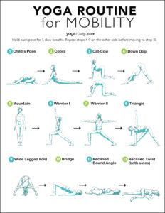 If you feel you are lacking range of motion, flexibility, or just feel overall achy, try this 10 minute beginner yoga for mobility routine! Yoga Flow Sequence, Yoga Sequences, Senior Fitness, Yoga Fitness, Free Yoga, Relaxing Yoga, Yoga Routine, Yoga Poses For Beginners, Yoga Meditation